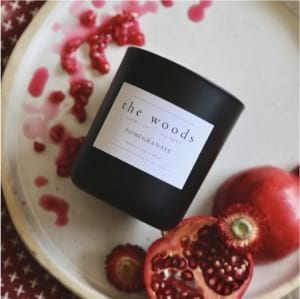 The Woods Candle Co - Pomegranate