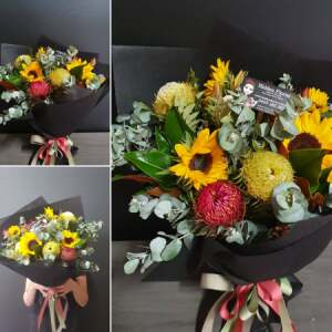 Natives & Sunflower Bouquets
