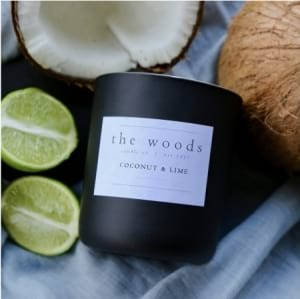 The Woods Candle Co - Coconut Lime