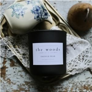 The Woods Candle Co - French Pear