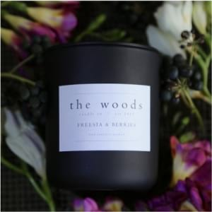 The Woods Candle Co - Freesia & Berry
