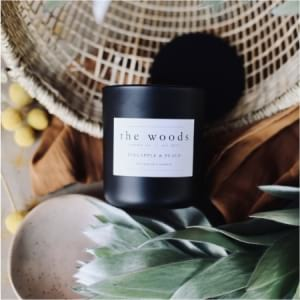 The Woods Candle Co - Pineapple Peach