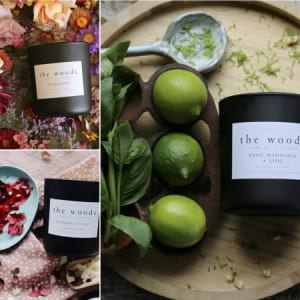The Woods Candle Co Black Range