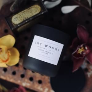 The Woods Candle Co -Native Orchid & Ginger